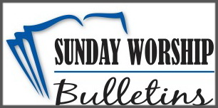 SundayWorshipBulletins